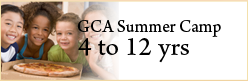 GCA Summer Camp 4-12 Years